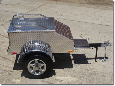pull behind Motorcycle Trailer